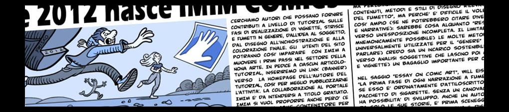 Un importante punto di riferimento per il fumetto d autore, in rete e in carta stampata!